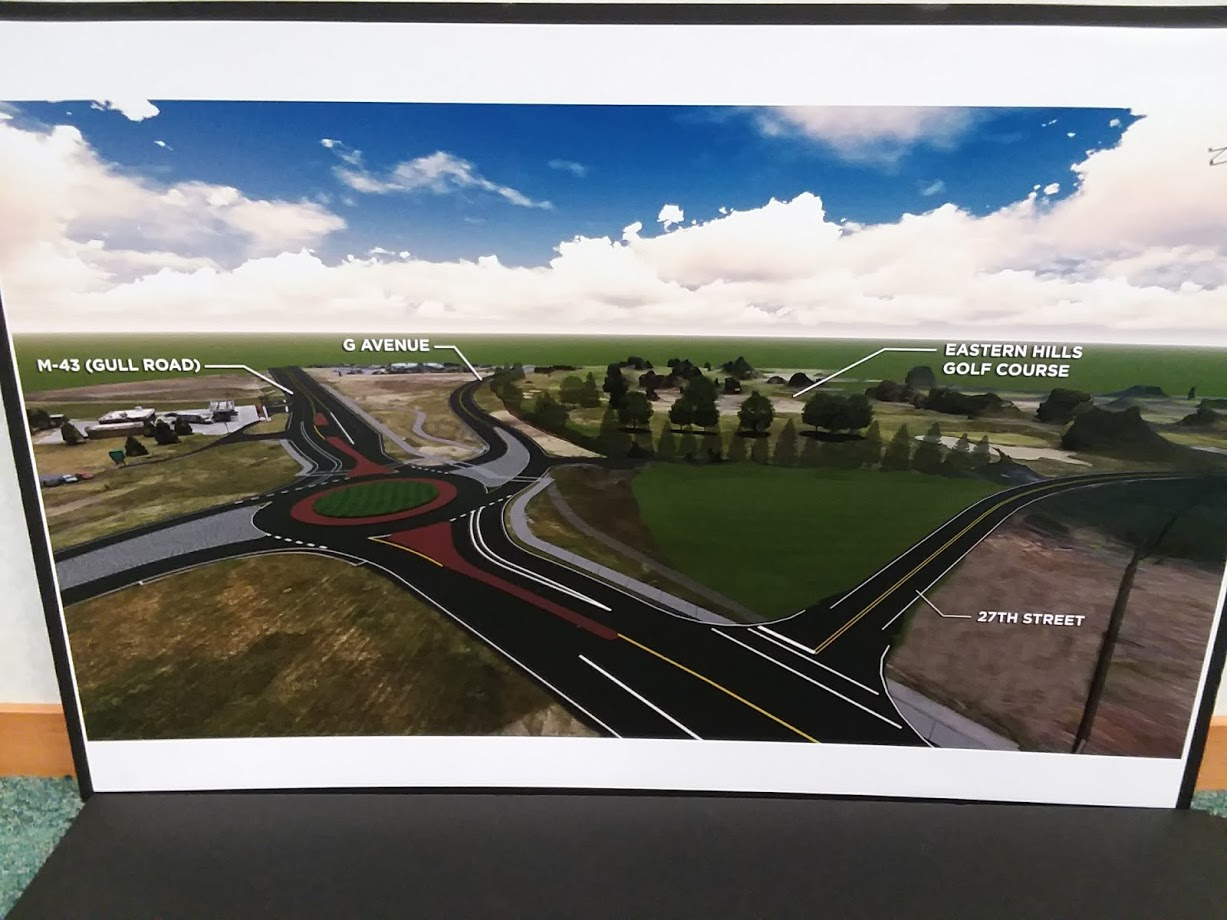 MDOT announces proposed changes to M43 (Gull Road) and G Avenue